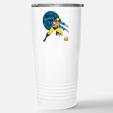 Wolverine Circle Stainless Steel Travel Mug