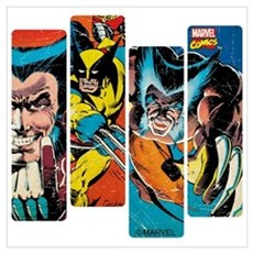 Wolverine Panel Wall Art Poster