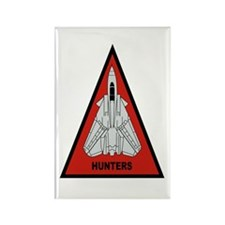 VF-201 Hunters Rectangle Magnet