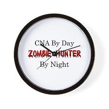 CNA/Zombie Hunter Wall Clock
