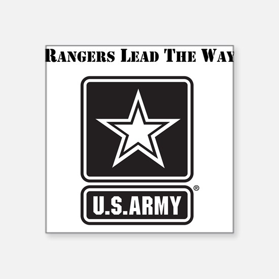 Army Rangers Lead The Way Sticker