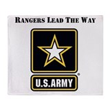 Army ranger Fleece Blankets