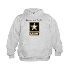 Army Rangers Lead The Way Hoodie