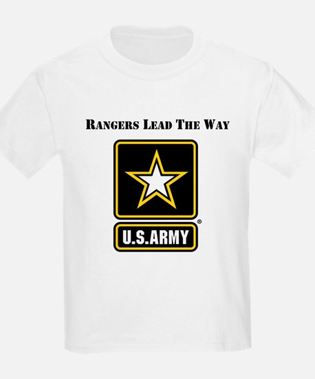 Army Rangers Lead The Way T-Shirt