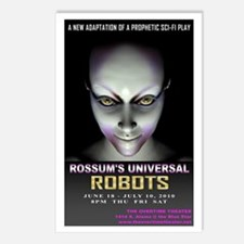 Rossum's Universal Robots Postcards (Package of 8)