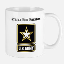 Strike For Freedom Army Mugs