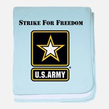 Strike For Freedom Army baby blanket