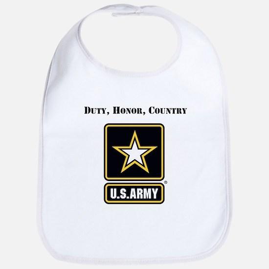 Duty Honor Country Army Bib