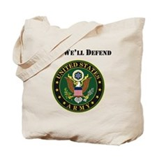 This Well Defend Army Tote Bag