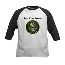 This Well Defend Army Baseball Jersey