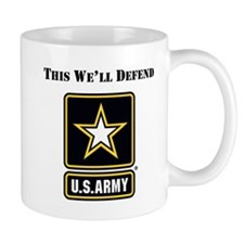 This Well Defend Army Mugs