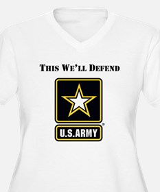 This Well Defend Army Plus Size T-Shirt