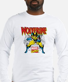Wolverine Attack Long Sleeve T-Shirt