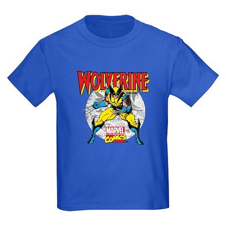 Wolverine Attack Kids Dark T-Shirt
