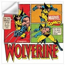 Wolverine Comic Wall Art Wall Decal