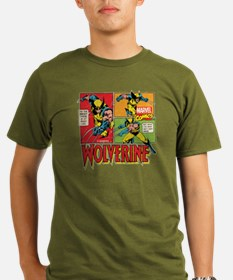 Wolverine Comic Organic Men's T-Shirt (dark)