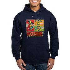 Wolverine Comic Hoodie