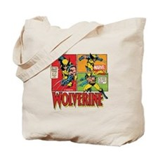 Wolverine Comic Tote Bag