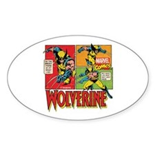 Wolverine Comic Decal