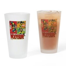 Wolverine Comic Drinking Glass