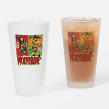 Wolverine Comic Drinking Glass