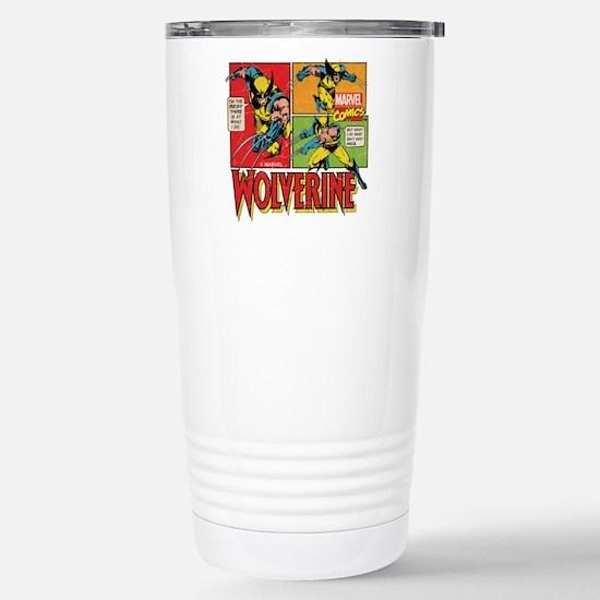Wolverine Comic Stainless Steel Travel Mug