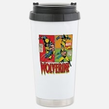 Wolverine Comic Travel Mug