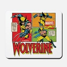Wolverine Comic Mousepad