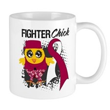 Throat Cancer Fighter Mug
