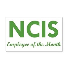 NCIS EMPLOYEE OF THE MONTH Rectangle Car Magnet