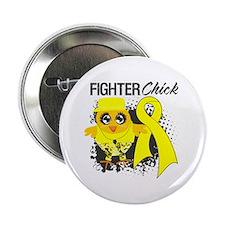 "Sarcoma Fighter 2.25"" Button"