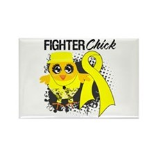 Sarcoma Fighter Rectangle Magnet