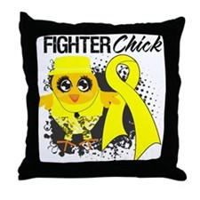 Sarcoma Fighter Throw Pillow