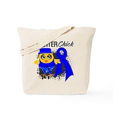 Rectal Cancer Fighter Tote Bag