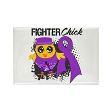 Pancreatic Cancer Fighter Rectangle Magnet