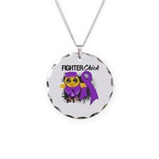 Pancreatic Cancer Fighter Necklace