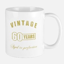 Vintage 60th Birthday Mug