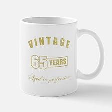 Vintage 65th Birthday Mug