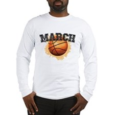Basketball March Madness-01 Long Sleeve T-Shirt