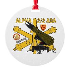 Alpha 2/2 ADA Ornament