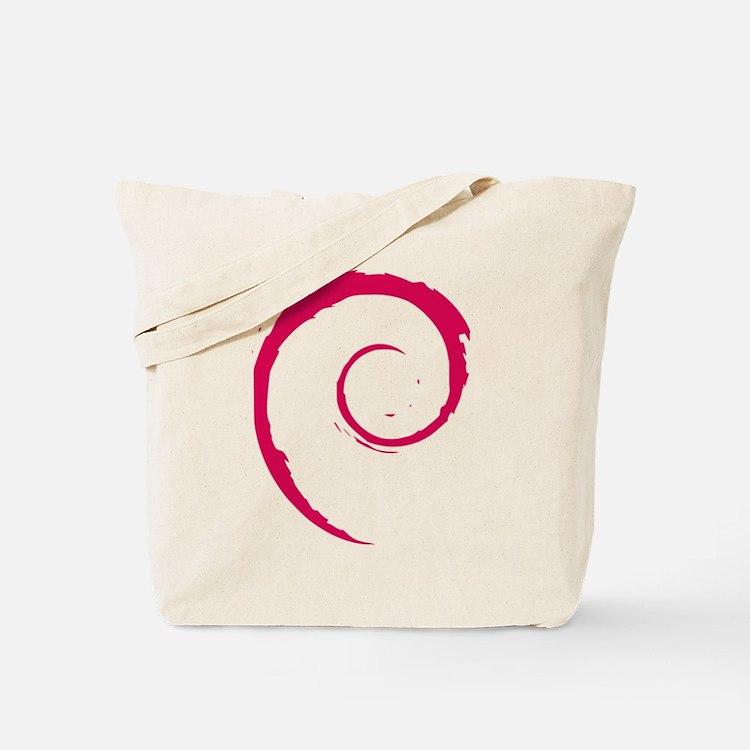 Debian Logo Tote Bag
