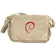 Debian Logo Messenger Bag