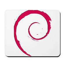 Debian Logo Mousepad