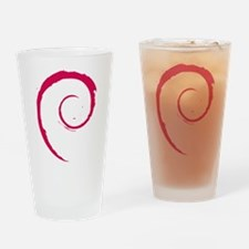 Debian Logo Drinking Glass