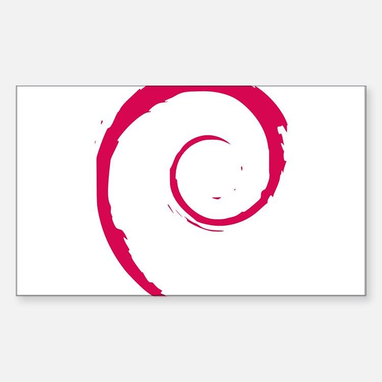 Debian Logo Decal