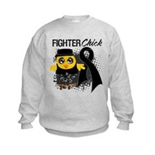 Melanoma Fighter Sweatshirt