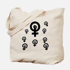 Cute Feminist fist Tote Bag