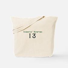 Shootin Newton 13 Tote Bag
