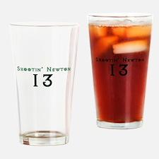 Shootin Newton 13 Drinking Glass