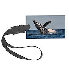 Humpback Whale 2 Luggage Tag